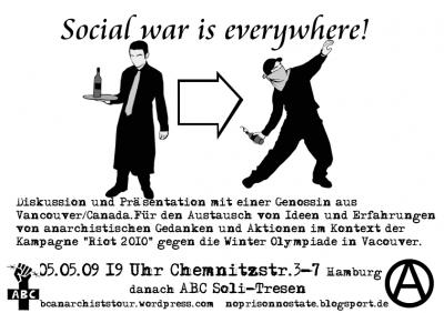 social war is everywhere!